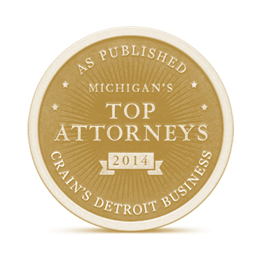 Crain's Detroit Business Top Attorneys logo