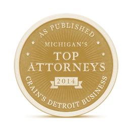 Crain's Detroit Business Top Attorneys logo